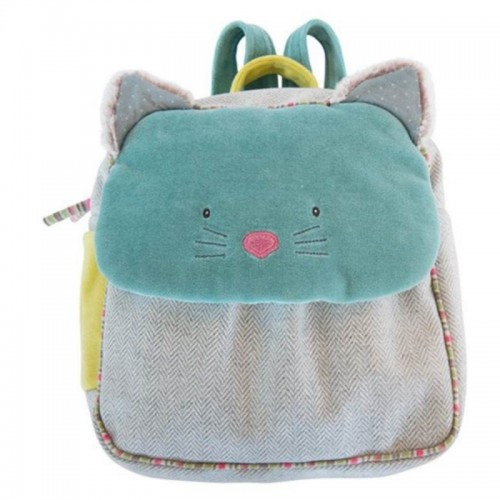Les Pachats blue backpack 25*10*29cm