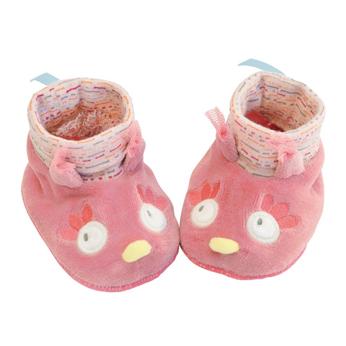 Owl baby slippers