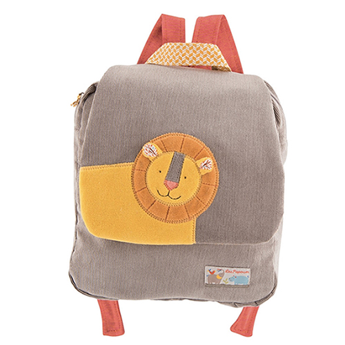 Les papoum Lion Backpack
