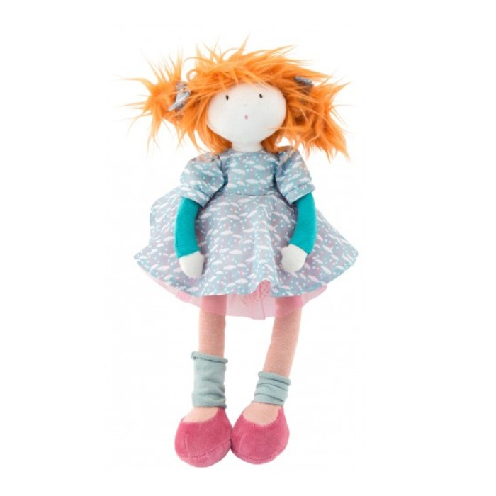 Les Coquettes new Orange Adele Rag Doll 38cm