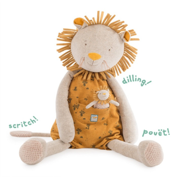 Sous Mon Baobab activity giant lion 80cm