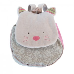 Les Pachats grey backpack 23*10*29cm